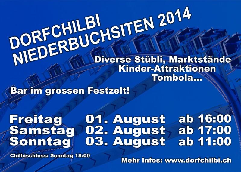Dorfchilbi Niederbuchsiten 2014