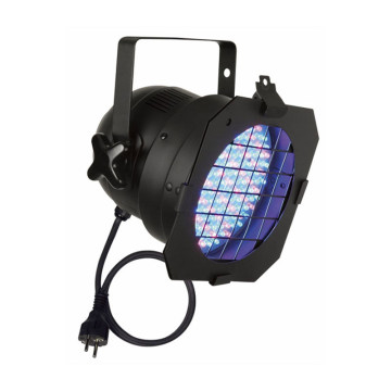 LED PAR 56 RGB black