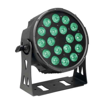 LED FlatPAR RGBWA 180 Watt
