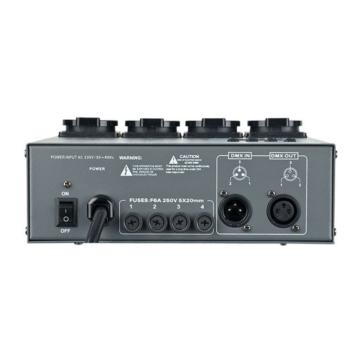 Showtec 4-Kanal DMX Relay Pack RP-405